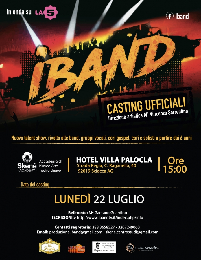 CASTING | SCIACCA (AG)